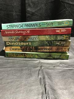 Lot of National Geographic Society Books