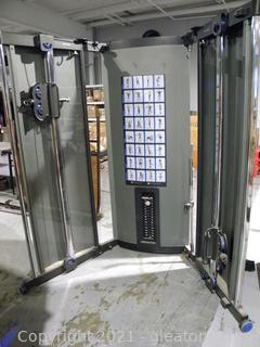 Foldaway Weight Machine
