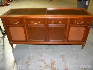 Vintage Magnavox Record Player Cabinet