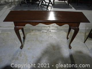 Cherry Queen Ann Sofa Table