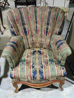 Victorian Channel Back Chair