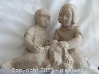 vintage 1981 Austin Sculpture