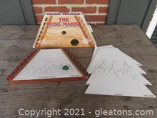 The Music Maker with Song Sheets