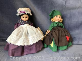 Madame Alexander Dolls Little Women Marmme and Poor Cinderella