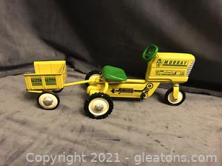 Hallmark CLASSIC KIDDIE car MURRY TRACTOR AND TRAILER
