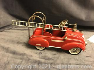 Hallmark Kiddy Classic Car Fire Wagon