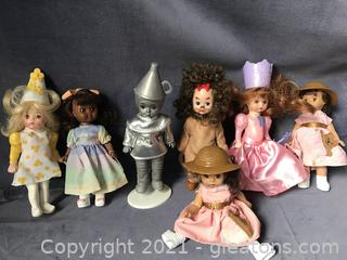 Madame Alexander Mini dolls