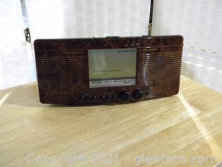Sharper Image Clock Radio