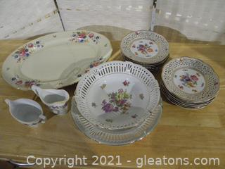 Fine Floral China Collection