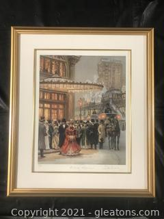 """Evening Performance"" By Alan Maley # 15/750"