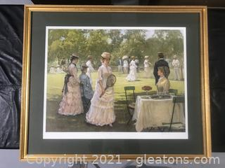 """Summer Pastime"" By Alan Maley # 57/750"
