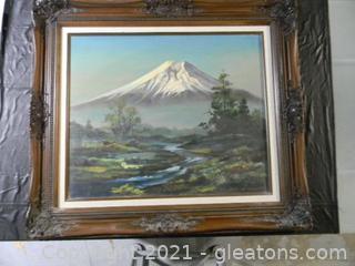 Serene Mountain Peak