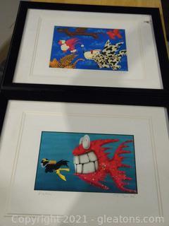 Pair of Animal Prints