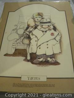 Gary Patterson Print - Taurus