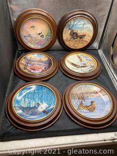 Collector Plates: Various Artist All W/Wall Hangers