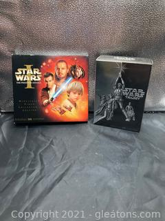The Art of Starwars and Star Wars Triology (Wide Screen)