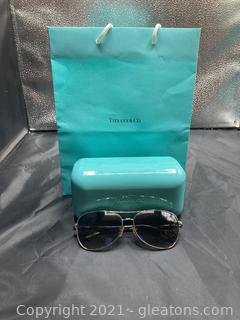 Tiffany and Co. Sunglass W/Case in Tiffany Bag