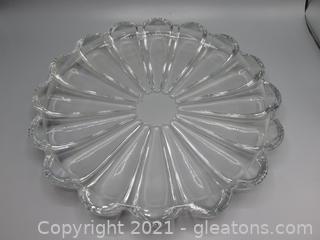 Crystal Cookie Platter