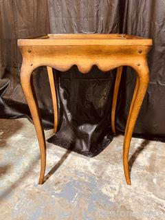 Elegant French Country Side Table