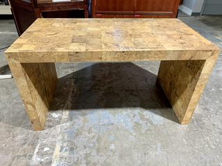 Tessellated Wood Table or Desk