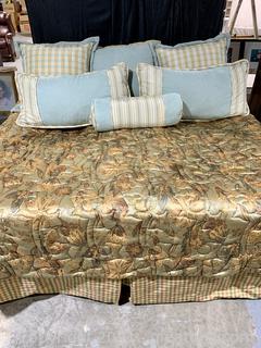 Custom Made 9-piece Luxury Queen Bedding