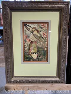 Vibrant Butterfly Framed Print