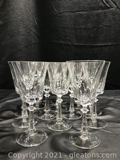 Crystal White Wine Stemware