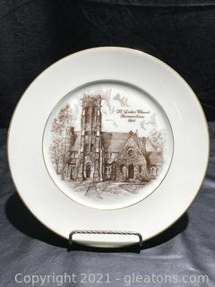 German Town China Plate