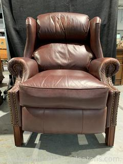 Well Loved Wing Back Recliner