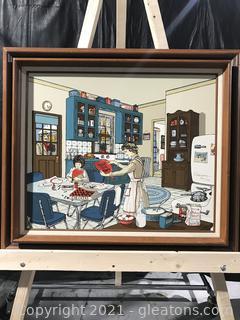 """H. Hargrove """"Kitchen Valentines Day"""" 764/1000"""