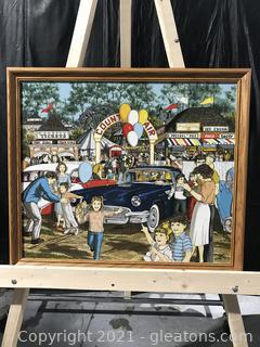 "H. Hargrove ""County Fair"" 881/1500"