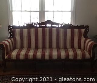 Stunning Italian Renaissance Style Sofa