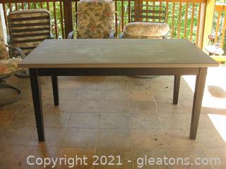 Wooden Farmhouse Style Table