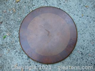 Very Large Wooden Lazy Susan