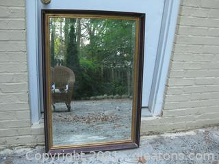 Large Beveled Wall Mirror by Uttermost