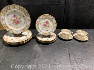 Beautiful Empress China From Germany (lot of 12)
