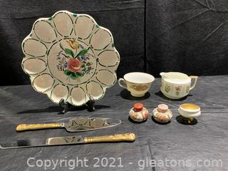 Global Collection of Serving/Dining Pieces