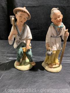 Napcoware Japan Porcelain Figurines (Lot of 2)