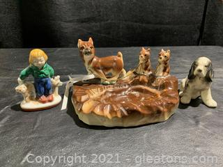 Figurines From Japan (Lot of 3)