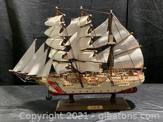 USCG Barque Eagle Model Ship