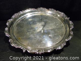 Miyata Sterling Silver Serving Platter