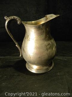 Silver Plated Pitcher