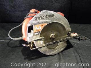 "7¼"" Skilsaw Circular Saw,"
