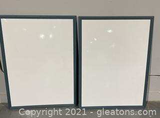 2 White Boards