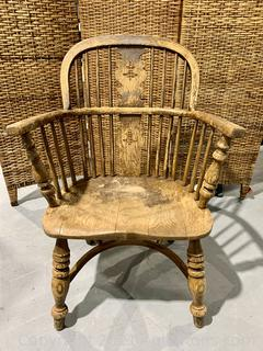 Charming Windsor Arm Chair