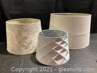Set of 3 Lamp Shades