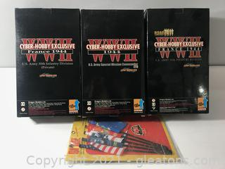 Lot of Cyber Hobby Exclusive WWII 1944