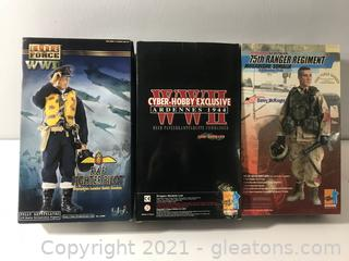 Lot of WWII Collectible Figures