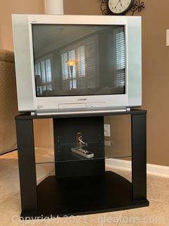 Sony Trinitron SRS TV and Stand