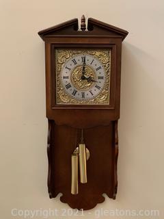 Timeless Wood Wall Clock